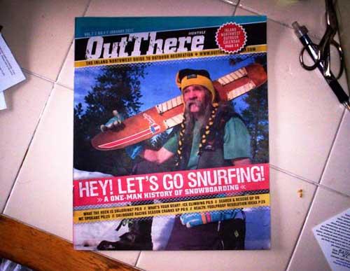 Seal was featured in a recent issue of OutThere Magazine