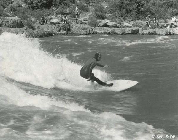 Seal River Surfing Lunchcounter 1990