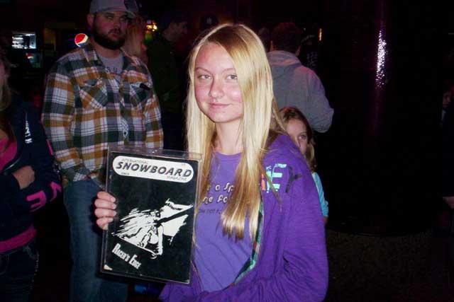 Shred '12 Winner